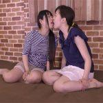 【無修正レズ動画】小柄なロリ系お姉さんと大柄なお姉さんがレズプレイ…おまんこを舐め合ったら貝合わせで性器をコスリ合う♡
